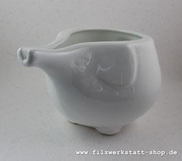 Elefanten- Garnschale aus Keramik  15-20cm