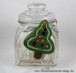 """Weihnachtliches Bonbonglas """" Weihnachtsbaum"""""""