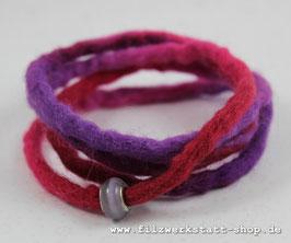 Wickelarmband Lila/Pink
