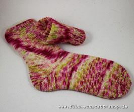 """Kirschblüten""-Socke   Größe 37-39"