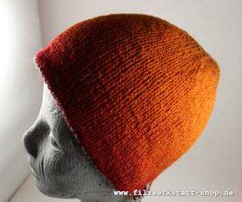 Wendemütze Rot/Orange