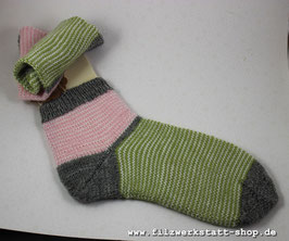 """""""Sommerringel""""-Socke   Größe 38/39 /40"""