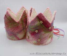 Geburtstagskrone  Rosa/Pink  2 Varianten