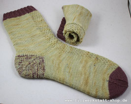 Perlmuster-Socke  Gr.40-42