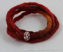 Wickelarmband Rot/Orange
