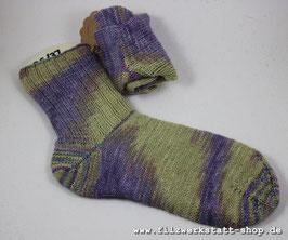 """Lavendel""-Socke   Größe 36-38"