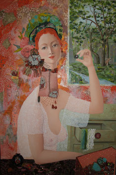La dame aux bijoux