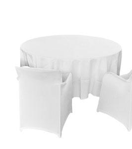 Tischdecke rund (MIETEN)