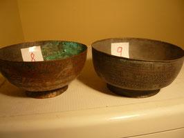 Nr. 8 Topf, runder Boden, Kupfer 9 x 19 cm