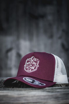 "TRUCKER CAP ""Nature is Home"""