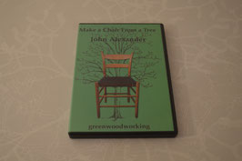 Make a Chair From a Tree - John Alexander / Green Woodworking DVD