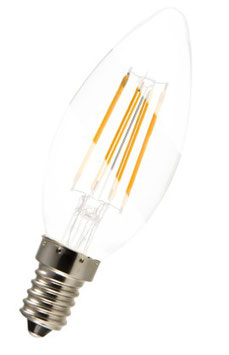 Bio-Licht 3W Pure-Z Retro-Kerze LED E14 klar SONDERANGEBOT