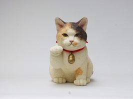 三毛の招き猫(縁まねきと財まねき)