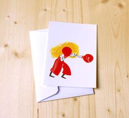 Carte postale MANON BOXE