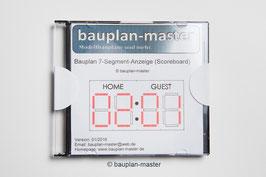 Bauplan 7-Segment-Anzeige (Scoreboard)