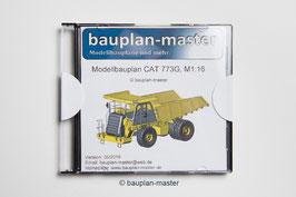 Modellbauplan CAT 773G, M1:16