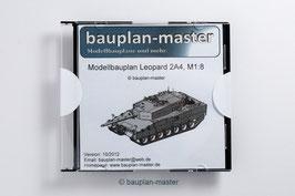 Modellbauplan Leopard 2A4, M1:8