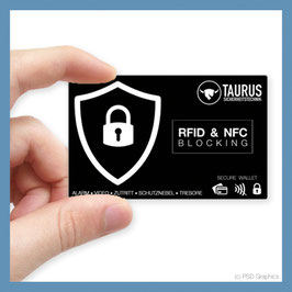 TAURUS RFID Blocker Card