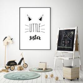 """Poster """"little sister"""""""