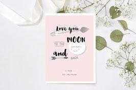 "U-Heft ""Love You To The Moon"""