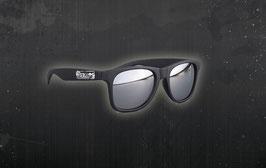 Sonnenbrille / silber verspiegelt