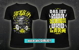 "T-Shirt ""Krach und Lärm"""