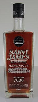 Saint James Trés Vieux Rhum Millésime 2000
