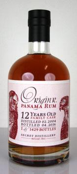 OriginR Panama Family Cask 12 yo