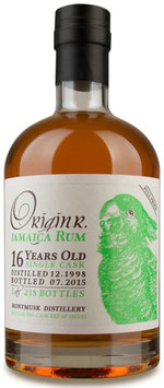 OriginR Jamaica Rum 16yo full proof