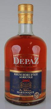 Rhum Depaz Hors D'âge Millésime 2002
