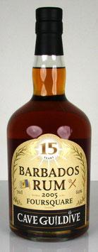 Cave Guildive Barbados Rum Foursquare 2005 15 yo