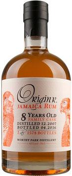 OriginR Jamaica Rum 8yo family cask
