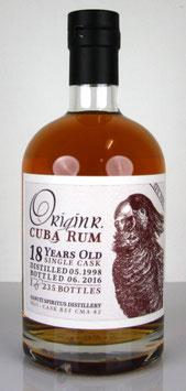 Origin R. Cuba Rum 18 yo