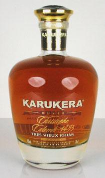 Karukera Cuvée Christophe Colomb 1493 Trés Vieux Rhum