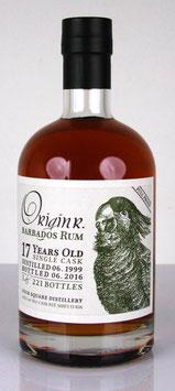 Origin R. Barbados Rum 17 yo Full Proof