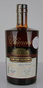 Rhum Clément Rare Cask Collection Millésime 2002 Edition Charles Hofer