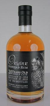 OriginR Trinidad Rum 20yo