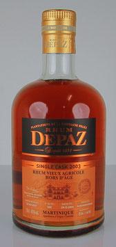 Rhum Depaz Hors D'âge Single Cask 2003