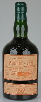 Rhum J.M Trés Vieux Vintage 1998