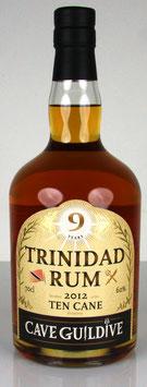 Cave Guildive Trinidad Rum 10 Cane 2012 9 yo