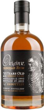 Origin R. Trinidad Rum 21 yo full proof