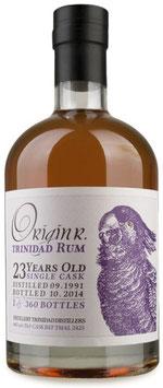 OriginR Trinidad Rum 23yo