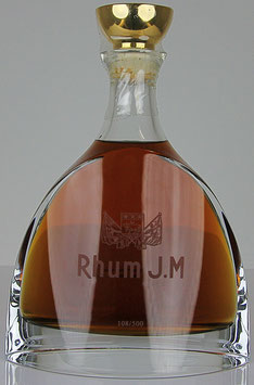 Rhum J.M Cuvée Prestige Carafe Cristal