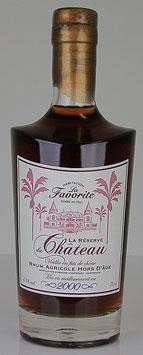 Rhum La Favorite Réserve du Château 2000