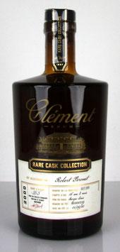 Rhum Clément Rare Cask Collection Millésime 2000
