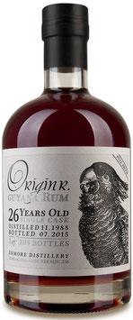 Origin R. Guyana Rum Enmore 26yo full proof