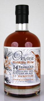 Origin R. Florida Sauternes Double Ageing Rum 14 yo