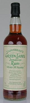 Cadenhead's Green Label Jamaican Rum 30 yo