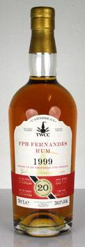 TWCC Trinidad FPH Fernandes Rum 1999 20 yo