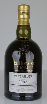 El Dorado Rum Rare Collection Versailles 2002